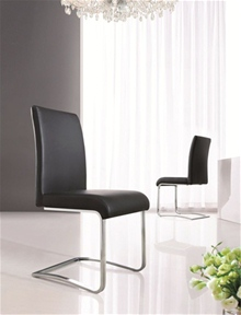 MODERN DESIGNER DINING ROOM CHAIRS (4 COLOURS) - G654