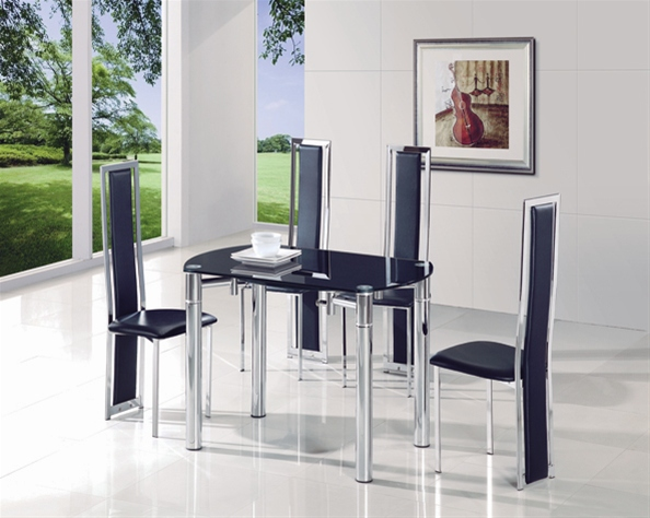 JAVA EXTENDING GLASS TABLE Dining Table and Chairs  : 801 601 from www.diningtables.co.uk size 594 x 474 jpeg 119kB