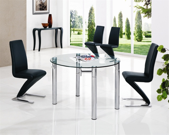 JAVA EXTENDING GLASS TABLE Dining Table and Chairs  : 801 632 3 from www.diningtables.co.uk size 594 x 474 jpeg 122kB