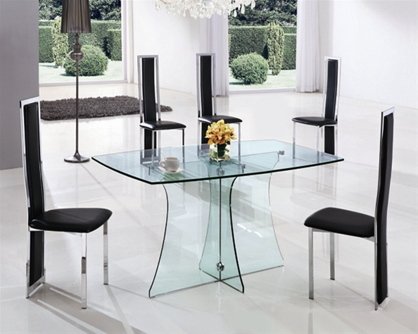 Glass Dining Tables dining table and 6 chairs, glass dining table and 6 chairs