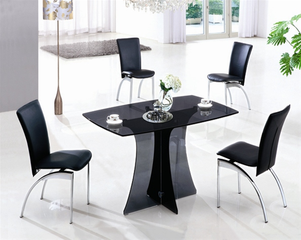 small glass dining table. SERENE SMALL GLASS DINING TABLE AND CHAIRS\u003cbr /\u003e \u003cstrike\u003e 469.00 Small Glass Dining Table