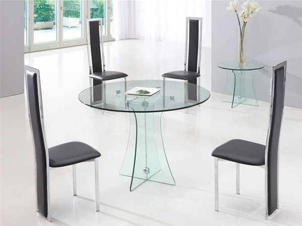 ASTORIA ROUND GLASS DINING TABLE : 834 601 from www.diningtables.co.uk size 600 x 450 jpeg 95kB
