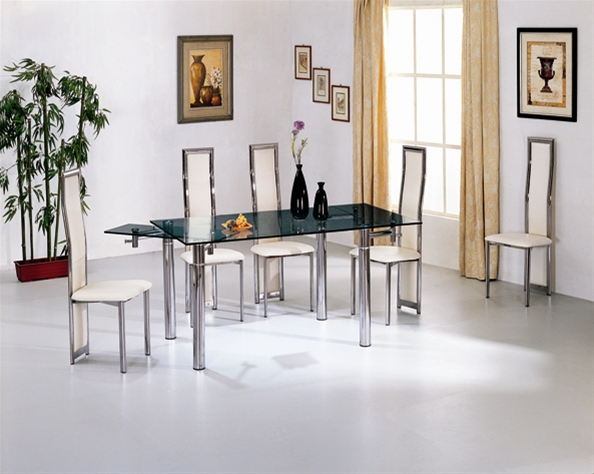 JAVA EXTENDING GLASS DINING TABLE Dining Table and Chairs  : 865 650 from www.diningtables.co.uk size 594 x 474 jpeg 127kB