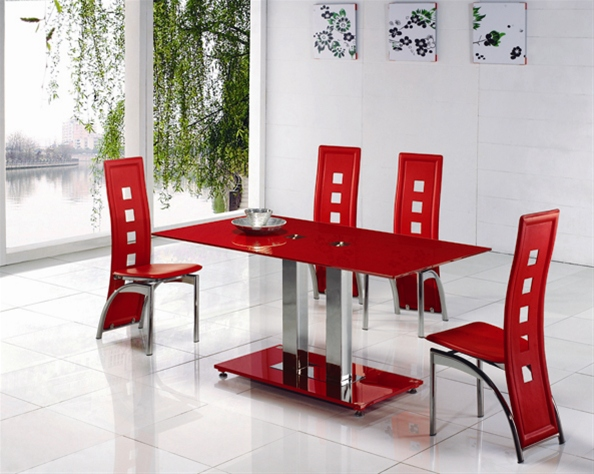 Jet Small Glass Table Dining Table And Chairs Dining Tables