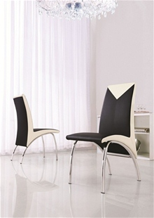 MODERN DESIGNER DINING CHAIRS (4 COLOURS) - G614