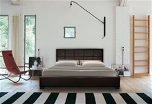CHANEL DESIGNER LEATHER BED