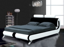 PARIS MODERN DESIGNER LEATHER BED