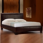 modern italian designer leather bed
