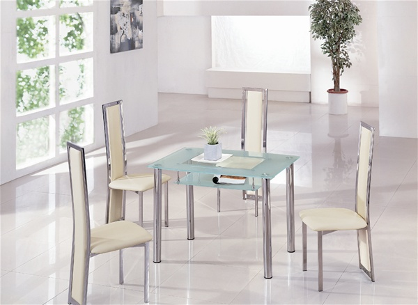 Rimini Glass Dining Table Rimini Glass Dining Table And Chairs