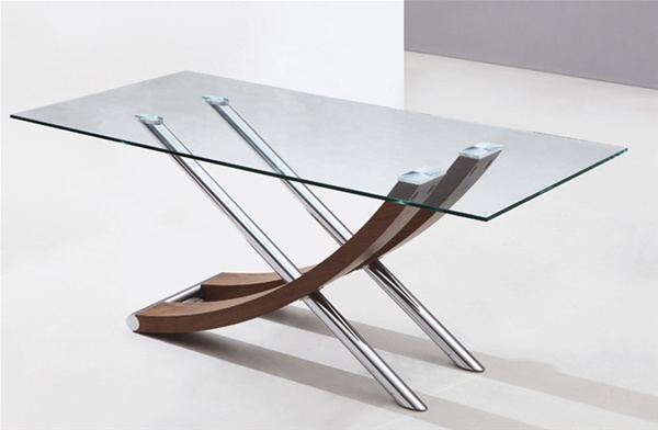 XANTOS GLASS DINING TABLE : 840 from www.diningtables.co.uk size 600 x 392 jpeg 47kB