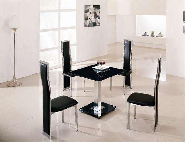 jet square vo1 glass dining table glass dining table and