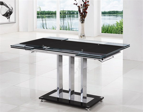 MANI EXTENDING GLASS DINING TABLE Dining Table and Chairs  : MANIEXTENDINGTABLEGXT 816120 180x80x755 from glassdiningtable.co.uk size 600 x 473 jpeg 80kB