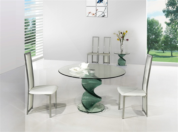 Twirl Glass Dining Table Portofino Glass Dining Table Glass Table