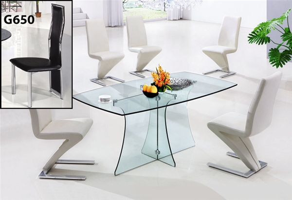 SERENE LARGE GLASS TABLE