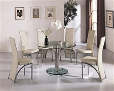 Glass Dining Table And Chairs Glass Table And Chairs