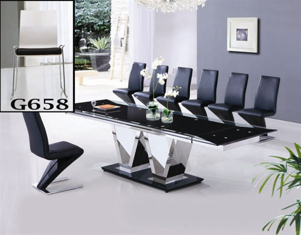 NEO EXTENDING GLASS TABLE