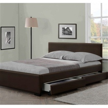 Italian Designed Modern Storage Bed with 4 Drawers