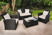 LUXURIOUS 4 PC PATIO SET