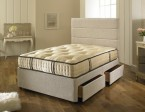 divan with superior pocket spring 2000 pillow top memory foam mattress