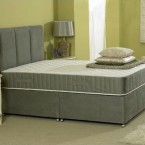 romney divan bed with spring memory foam mattress