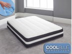 cool blue memory foam mattress sprung