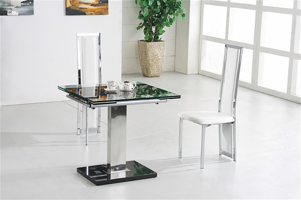 Gami Nitro Extending Glass Dining Table Furniture Italia